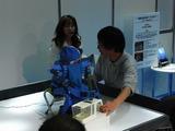 人型ロボットが家庭内に入る事を想像して欲しかった。