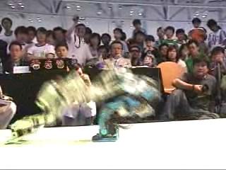 第2回 ASIA ROBO-ONE 韓国釜山 決勝 最終ラウンド