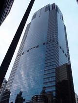 沢山の高層ビルが存在を主張している