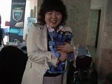 日本チームを暖かく応援してくれたBigFMの可愛い子達