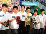 香港の中学+杉浦ファミリー合同チーム