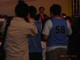 ジャンさんが厳正粛々(かついつもの大声)で選手宣誓を行う。