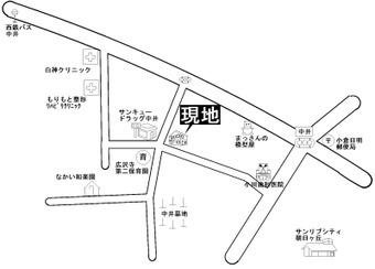 ラ・グローリア地図