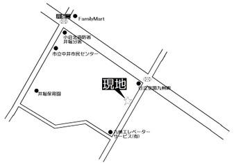 ライオンズマンション 地図