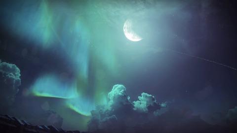 23 オーロラを見た夜