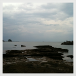 芳養漁港からの田辺湾