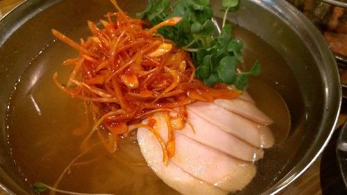 亀戸ホルモン:冷麺