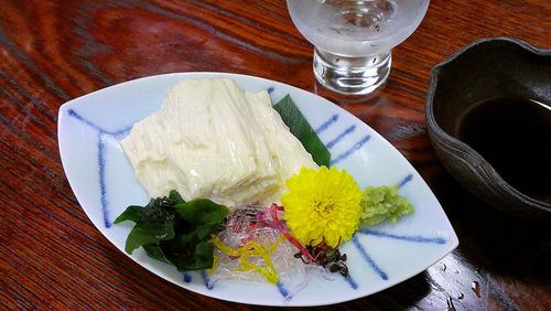 笹乃雪 うずみ豆富(豆富茶漬け)