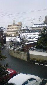 週末ごとに雪