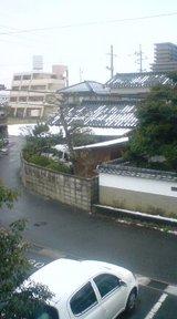 雪模様 米子市