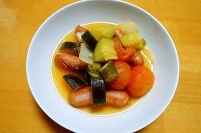 1807 夏野菜のスープ煮 A