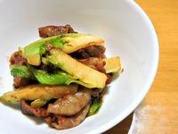 1702 豚と蕾菜の味噌炒め B