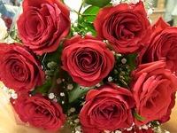 1107 花束バラ A