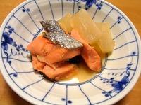 1612 大根と鮭の紅白煮 A
