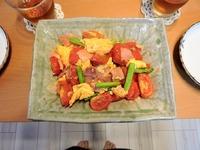 1708 トマトの炒め物 A
