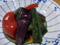 1107 夏野菜のあげびたし B