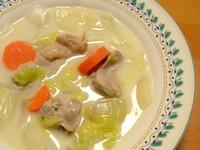 1612 鶏と白菜のクリームシチュー B