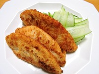 1702 鶏ささみの簡単あげ B