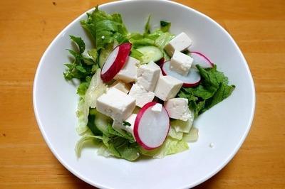 1807 豆腐のサラダ A