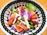 1512 紫白菜のサラダ A