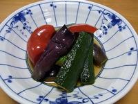 1107 夏野菜のあげびたし A