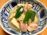 1409 鶏と高野豆腐の煮物 A