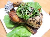 1612 大山鶏のミニローストチキンドライトマト詰め B