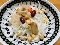 1510 サラダ 大根&豆 A
