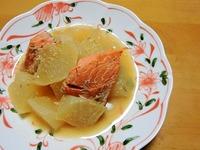 1703 鮭と大根の味噌煮B