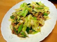 1405 野菜炒め A