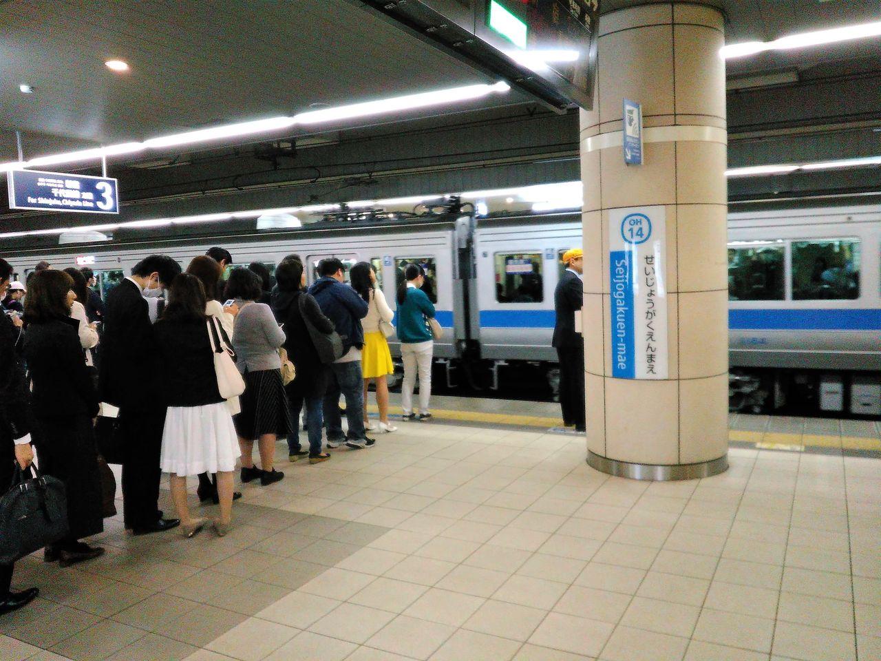 「小田急線 ラッシュ」の画像検索結果