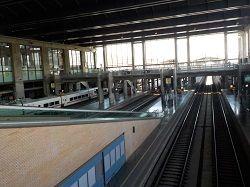 コルドバ駅ホーム