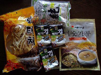 まりちゃんから韓国お土産
