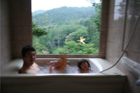 5240風呂入る