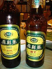 冷たいビールとぬるいビール