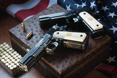 リボルバー拳銃VSオートマチック拳銃
