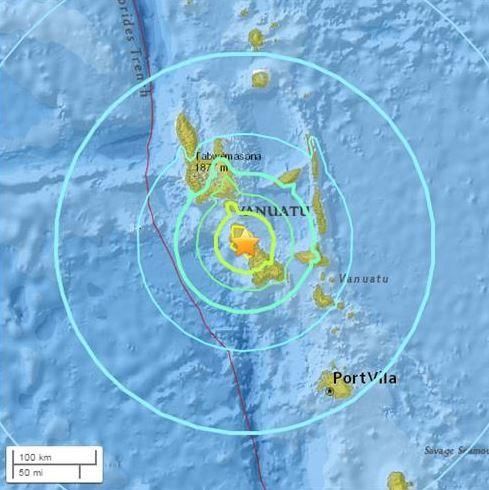 【地震】韓国人「バヌアツでマグニチュード7.0の大地震が発生!津波警報も」 韓国の反応