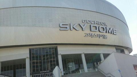 【韓国人】週末に初めてドーム球場に行った