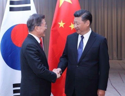 崩壊寸前のバ韓国ww 習近平が1年ぶりにTHAAD問題の解決を求めてきた!!