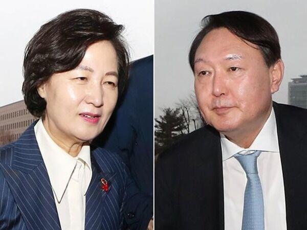 #韓国 法務部長官『おぃチョ・グクの捜査すんな!コロナはお前のせい!お前は辞任しろ!』、検事総長『仕事なんで』、チョ・グク『では僕が一曲歌います♬』