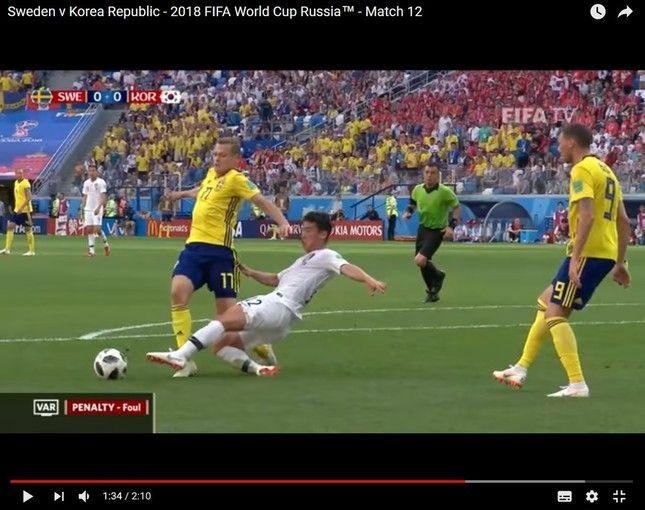 【サッカー】韓国、スウェーデン戦で怒りの国民請願 「再試合を要求」「スウェーデンにミサイルを発射して」