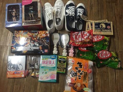 【韓国人】福岡に行って買ってきたものです