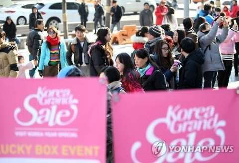 【死活問題wwwww】旧正月でバ韓国を訪れる中国人観光客が激減中!!