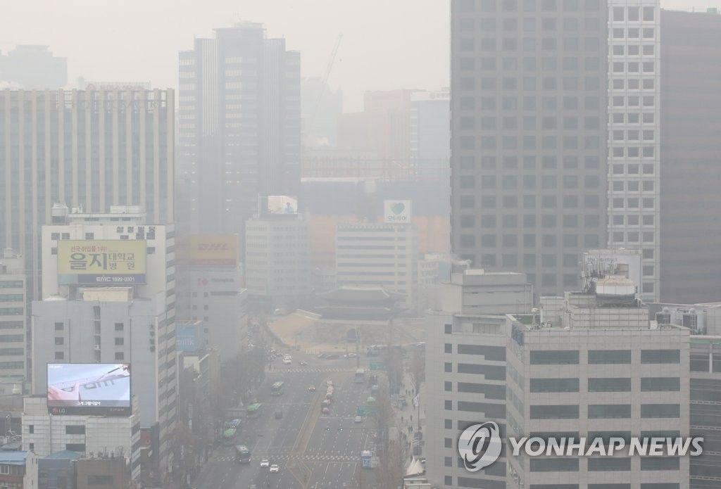 【韓国】7日連続で灰色の空 全国各地の大気にPM2.5が充満