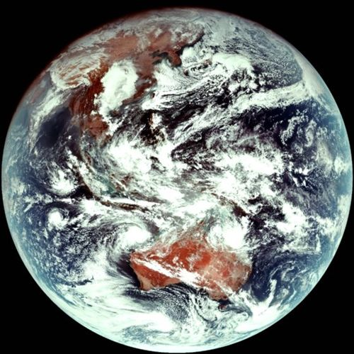 【韓国人工衛星】「千里眼2A」からの初の地球映像見ると…気象予測の向上に期待