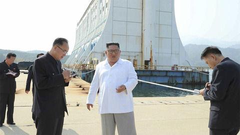 【北朝鮮】金剛山の韓国側施設撤去を指示 金正恩氏が現地視察「見るだけで気分が悪い」