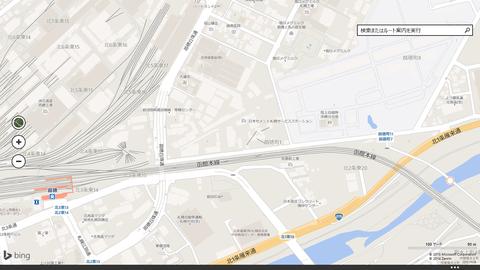 苗穂駅地図