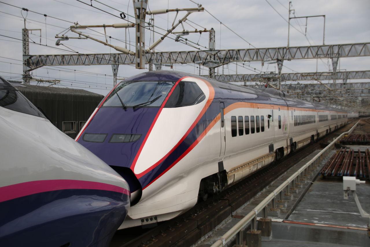 ジュン次郎のブログ                          大宮駅で北海道新幹線H5系を撮影                        コメント