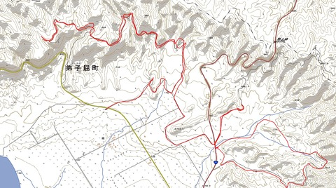 野上峠林道