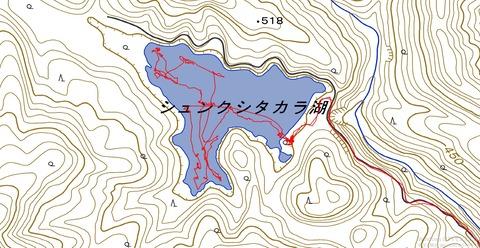 07.24シュンクシタカラ湖02
